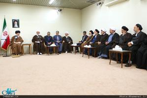 دیدار دستاندرکاران کنگره بزرگداشت آیتالله مصطفی خمینی(ره) با رهبر معظم انقلاب