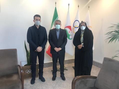 دیدار رییس فدراسیون جودو با وزیر ورزش و صالحی امیری