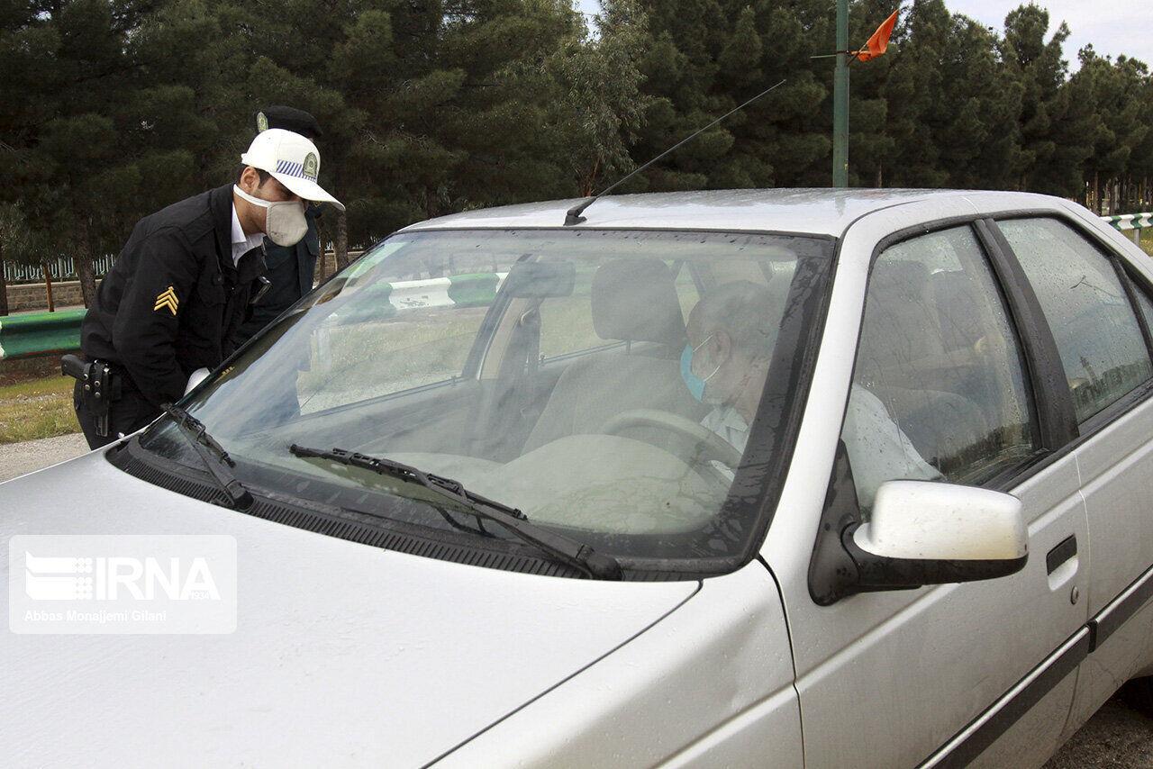 ورود و خروج بیش از پنج هزار خودرو به شهرهای یزد جلوگیری شد
