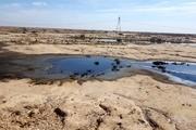 تخلیه ضایعات نفتی تانکرهای عراقی، بلای جان محیط زیست خوزستان + تصاویر
