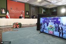 مراسم بهره برداری از طرح های ملی صنعت مس ایران