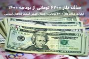 تبعات حذف ارز 4200 تومانی از زبان علیرضا محجوب/ 10 برابر به سفره فقرا و هزینههای عمومی خسارت وارد میشود!