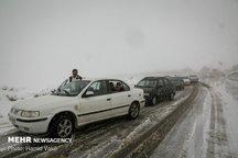 مه و کولاک حادثه ساز شد تصادف زنجیره ای ۱۶ خودرو در محور فیروزکوه