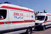 تصادف مینی بوس و کامیون در جنوب تهران پنج مصدوم داشت