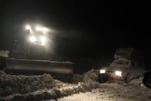 برف راه 115 روستای خلخال را بست