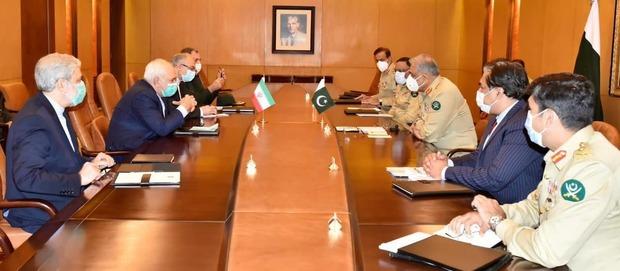 گزارش ظریف از مذاکراتش در پاکستان + تصاویر