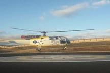 اعزام بالگرد اورژانس به شهرستان سراب