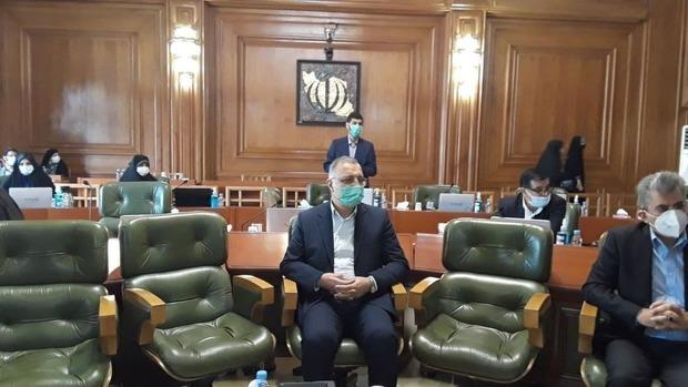 زاکانی در شورای شهر تهران حاضر شد + عکس