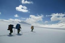 پیمایش زمستانه رشته کوه منگشت انجام شد