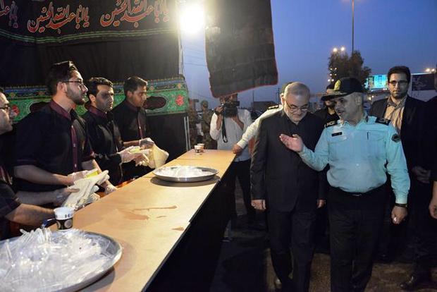 آمادگی بالای یگان های امنیتی و انتظامی قم اربعین سمبل فرهنگ شیعی و عاشورایی است