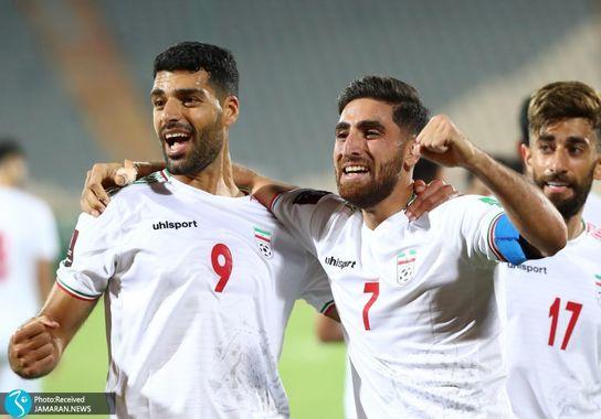 علیرضا جهانبخش  مهدی طارمی علی قلی زاده ایران سوریه مقدماتی جام جهانی 2022
