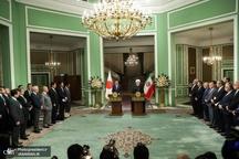 روحانی: ایران از اراده و اهتمام ژاپن نسبت به توسعه روابط استقبال میکند/ آغازگر هیچ جنگی در منطقه حتی با آمریکا نخواهیم بود اما به هر تهدیدی پاسخ قاطع می دهیم/ آبه: هیچکس علاقمند به افزایش تنش در منطقه نیست/ ژاپن با همه توان در این راستا تلاش خواهد کرد