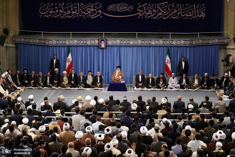 دیدار شرکت کنندگان در سیوششمین دوره مسابقات بینالمللی قرآن با رهبر معظم انقلاب