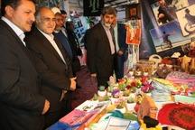 استاندار کرمان از نمایشگاه دستاوردهای انقلاب بازدید کرد