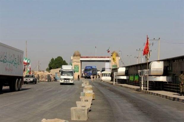 مرز چذابه و شلمچه از ۱۷ مهر بر روی کامیونهای حامل بار بسته میشود