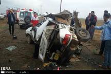 تصادف در جوین یک کشته به جا گذاشت