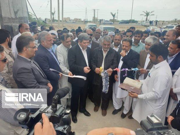 سرپرست وزارت آموزش وپرورش یک واحد آموزشی در کنارک را افتتاح کرد