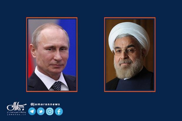 پوتین نوروز 1400 را به مردم ایران تبریک گفت