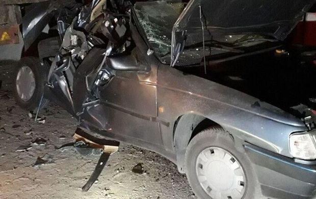 تصادف در جاده رامهرمز - بهبهان ۲ کشته داد