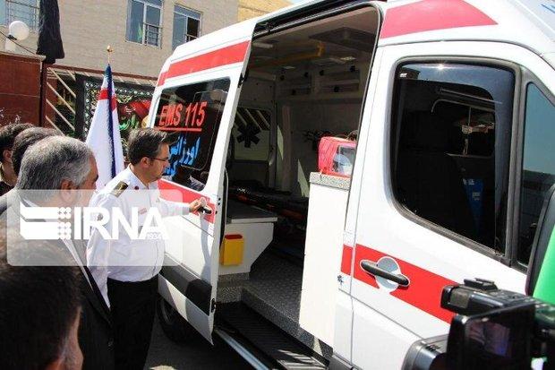 ۸ دستگاه آمبولانس کمک دار به ناوگان اورژانس کردستان اضافه شد