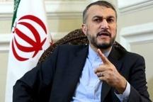 امیرعبداللهیان: شکست اقدامات نظامی در یمن قطعی است