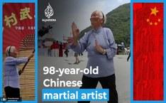 پیرزن 98 ساله ای که نگاه کاربران اینترنت را به خود جلب کرده است+ تصاویر