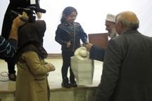خردسال ترین خیّر کشور به بیمارستان بوکان ویلچر اهدا کرد