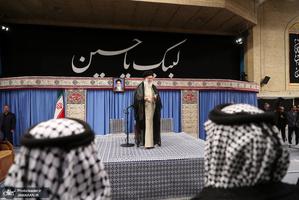 دیدار جمعی از موکبداران عراقی با رهبر معظم انقلاب
