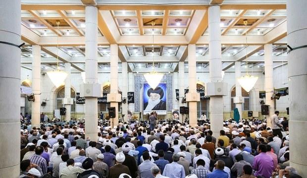 مراسم سالگرد ارتحال آیت الله بروجردی در قم برگزار شد