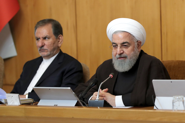 رئیس جمهور روحانی:  انگلیسیها آغازگر ناامنی در دریا هستند
