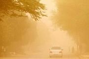 گرد و غبار شدید وارد استان کرمانشاه شد