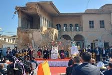پاپ کبوتر سفید صلح را از میان آوارهای موصل آزاد کرد+عکس