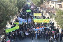 خودجوشترین راهپیمایی 22بهمن در رشتخوار و تجدید پیمان با آرمان های جمهوری اسلامی