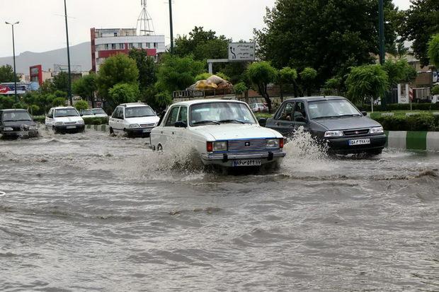 مشکلات ناشی از باران در ارومیه تنها به آبگرفتگی محدود می شود