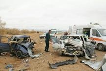 سانحه رانندگی در خور سه کشته داشت