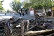 ۲ هزار و ۹۰۰ متر شبکه آب و فاضلاب خیابان فردوسی سنندج اصلاح میشود