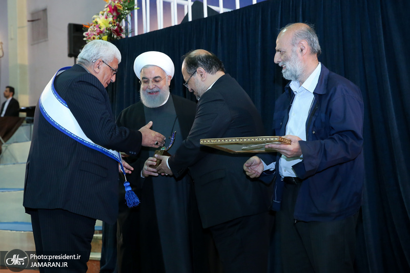 روحانی در جشنواره ملی قدردانی از کارگران