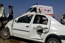 تصادف در جاده نایین یک کشته و 10 مصدوم داشت