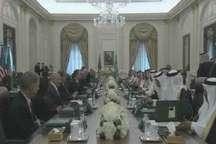 آغاز مذاکرات رسمی پادشاه عربستان و ترامپ