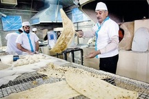 کمبود آرد نانوایی های آزاد پز اردبیل برطرف می شود