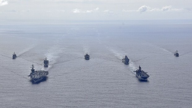 رزمایش بزرگ ارتش آمریکا بیخ گوش روسیه