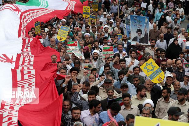 مسیر راهپیمایی ۱۳ آبان در شوط اعلام شد
