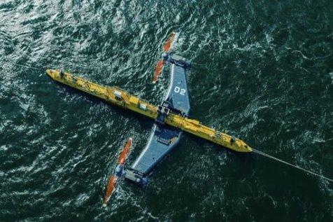 راه اندازی بزرگترین توربین موجی جهان