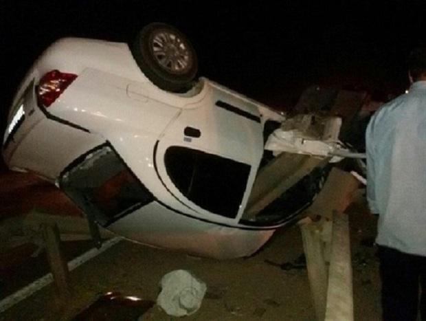 واژگونی تیبا در اهواز 2 کشته و سه مصدوم برجا گذاشت