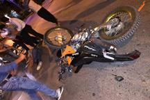 سهم موتورسواران و عابران در تلفات رانندگی مشهد 86 درصد است