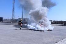 پایانه مرزی چذابه به سیستم های کنترل اطفاء حریق مجهز شد