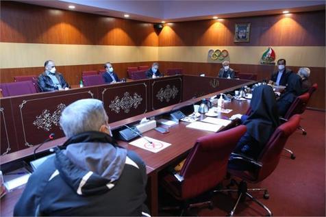 نشست تخصصی فدراسیون تنیس روی میز با سرپرست کاروان المپیک 2020