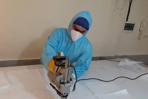 تولید ۵۰ هزار ماسک با کمک جوانان در مازندران