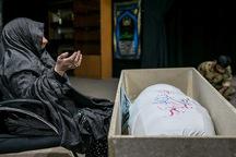 مادر شهید هوشنگ سیاهکالی به فرزند شهید خود پیوست