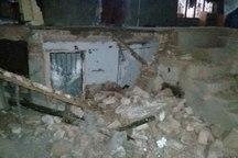 انفجاز گاز شهری در داورزن یک منزل مسکونی را تخریب کرد